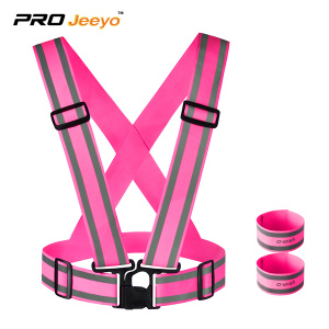 Customized reflective vest for running