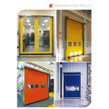 Self Recovery High Quality PVC Rapid Rolling Door