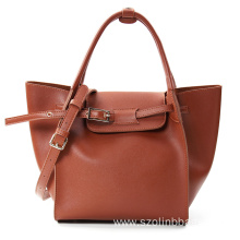 OEM Factory for for Leather Tote Bags Fashion Ladies Handbags Tote Bags in PU Leather supply to Equatorial Guinea Factory