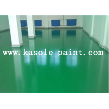 Epoxy wear-resistant waterborne floor paint