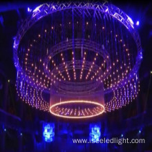 Nightclub ceiling rgb color dmx 3d tube