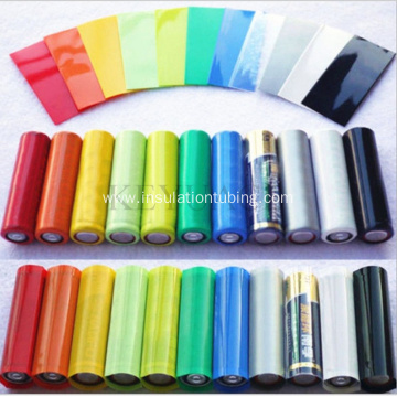 Colorful Li-ion 18650 Battery Wrap Tubing Kit