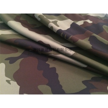 Waffle Polyester Camouflage Fabric with Compound