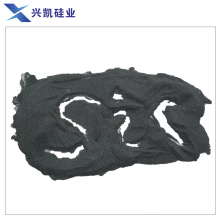 Black silicon carbide for processing alloy and glass
