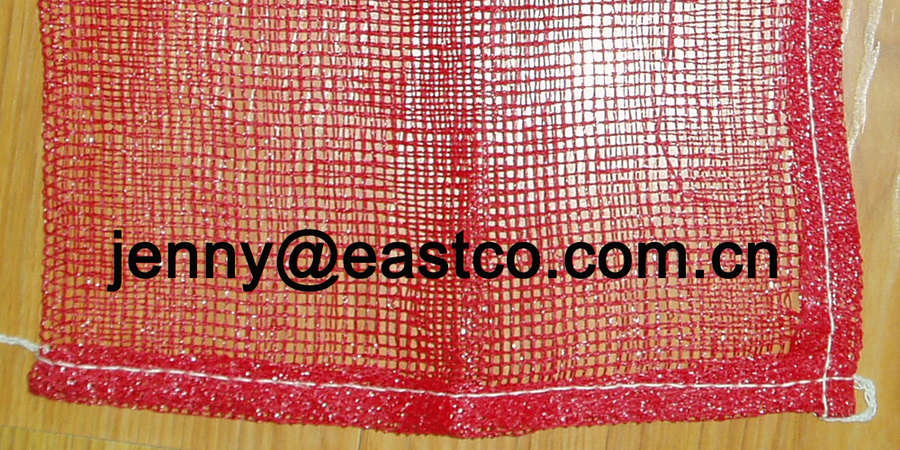 Poly Mesh Net Bag Sack bottom L-sewing