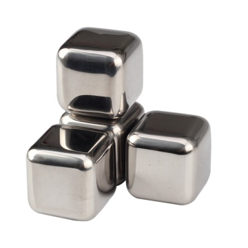 Reusable Whiskey Stones Stainless Steel Ice Cubes