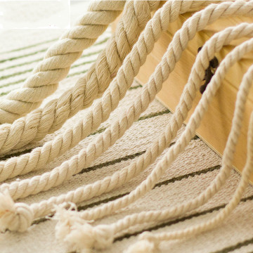 3 Strand Super Soft Durable Cotton Rope