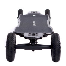 Dual motor electric skateboard with off road wheel