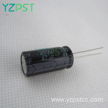 Low impedance High frequency electrolytic capacitor for VCD