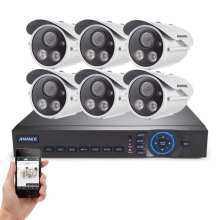 Best Quality for Hemisphere Cctv Camera System 720P NVR 4CH  IR Security Surveillance supply to Indonesia Importers