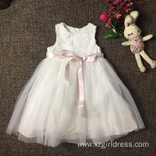 Embroidery Coloured ribbon Princess Dress