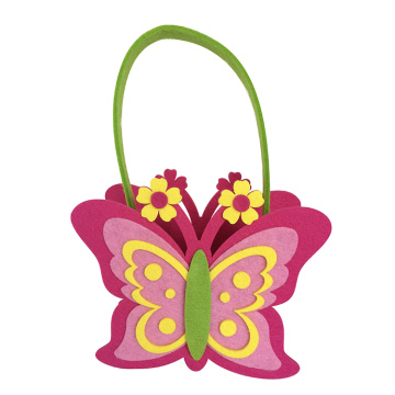 Easter butterfly shape candy bag