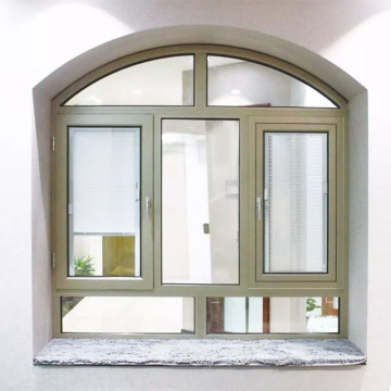 Lingyin Construction Materials Ltd Fashion Aluminum Casement Window For Sale