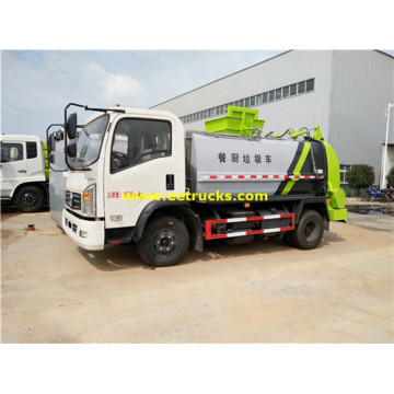 Dongfeng 5cbm Kitchen Garbage Trucks
