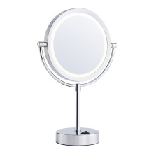 Two-side rechargeable led mirror