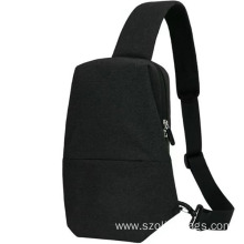 New Fashion Design for for Crossbody Bags Newest Black Men Outdoor Chest Bag export to Sao Tome and Principe Wholesale