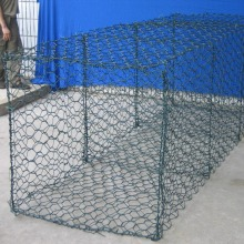 Hot Sale for Hexagonal Mesh Gabion Box PVC Coated Gabion Basket export to Gabon Supplier