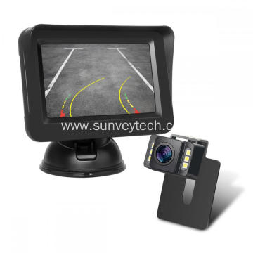 Backup Camera with Dynamic Trajectory