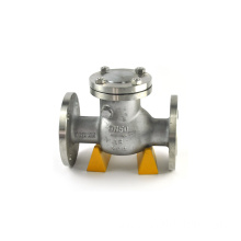 full opening swing check valve with counter weight dn50 swing check valve