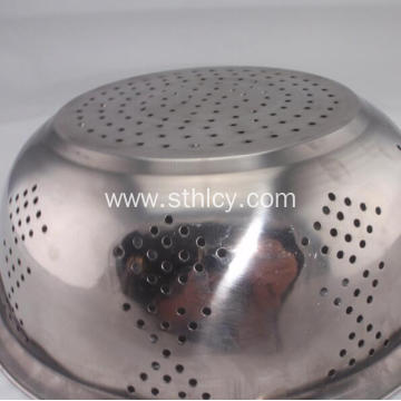 3 Pieces Stainless Steel Basin Bowl Set