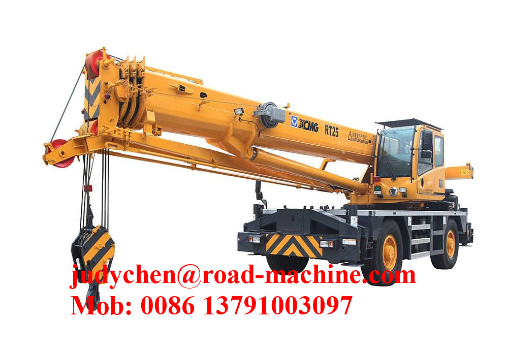 Xcmg Rt25 Rough Terrain Tractor Crane