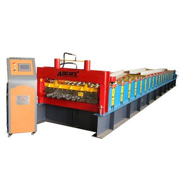 Steel floor decking roll forming machine good price