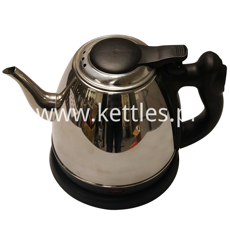 Mini electric kettle with LED