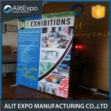 Aluminum framed trade show booth display banner
