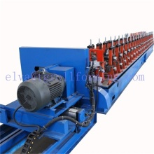 Solar support strut channel roll forming machine