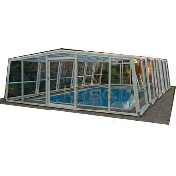 High Quality for Retractable Swimming Pool Enclosures Floor Drain Cover Plastic Swimming Pool Enclosure Shade export to Samoa Manufacturers