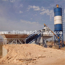 China for 50M³ Mobile Concrete Plant 50 Mobile Concrete Mixer Plant export to Eritrea Factory