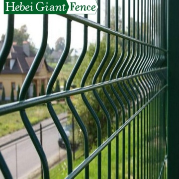 3D Curvy Triangle Bending Welded Wire Mesh Fence