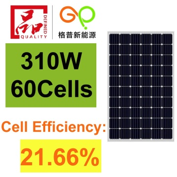 310Watt Monocrystalline Solar Panel