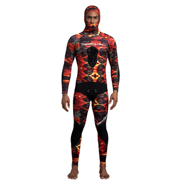 Seaskin 7mm Camouflage Men's Spearfishing Wetsuit