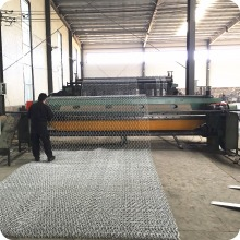 woven gabion box /stone cages/gabion retaining wall