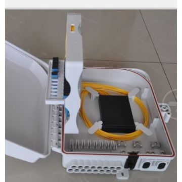 24F Fiber Optic Splitter Box