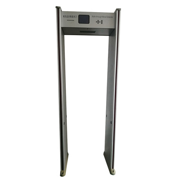 walkthrough metal detector gate for security