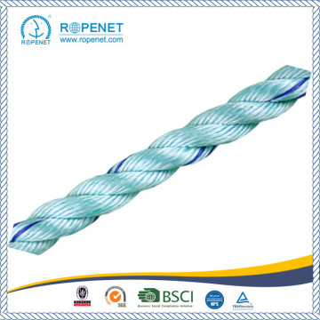 PP 3 Strands Twisted Danline Rope for Supermaket Hot Sale
