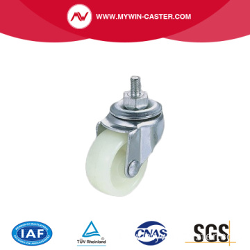Light duty zinc plated swivel industrial caster