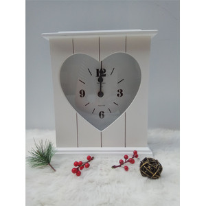 Good quality 100% for Wooden Clock White High Quality Wooden Clock supply to Bahrain Factory