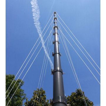 Professional Design for Telecommunication Steel Tower Pneumatic Telescopic Mast supply to Grenada Factories