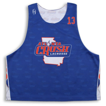 All over printed cheap reversible Lacrosse Jersey