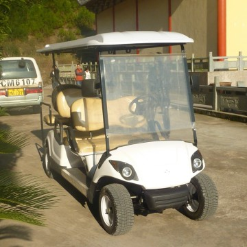 gas golf cart with off-road tyre