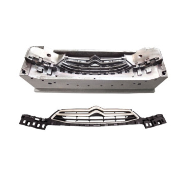 Plastic car front grille injection mould