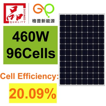 460W Mono Solar Panel High Efficiency