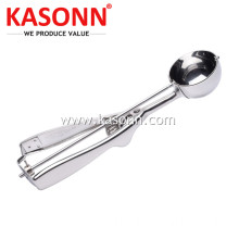 The Best Metal Cookie Scoop mit Spiegelglanz