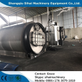 waste rubber refining to oil plant