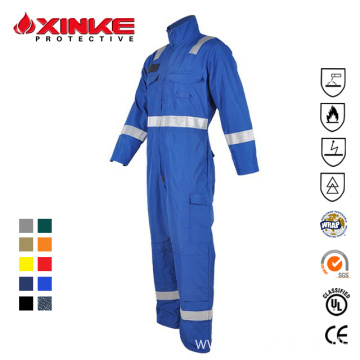 Flame Fr Resistant Fireproof Coveralls And Clothing