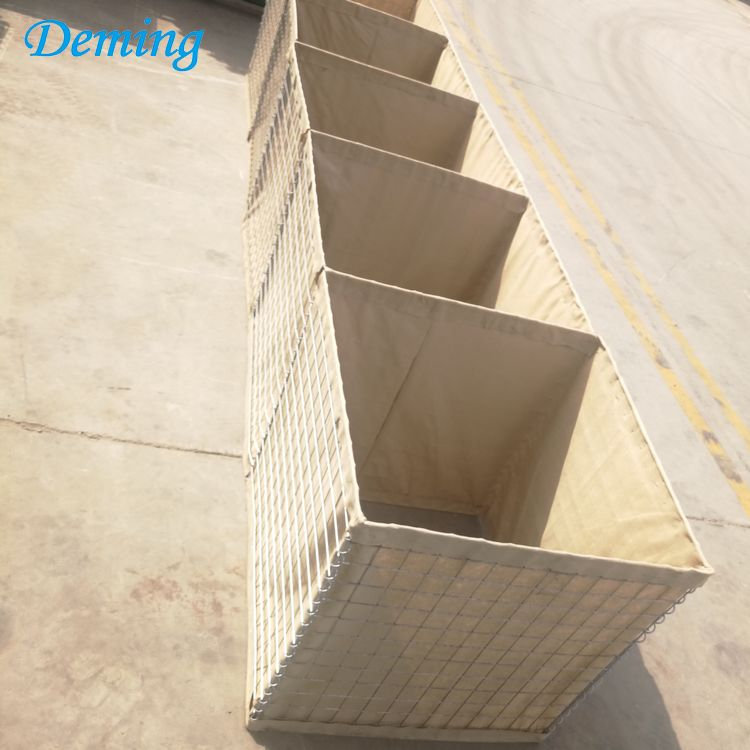Factory Supply Galvanized Military Sand Wall Safety Barrier