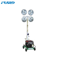 Telescopic Generator Mobile Light Tower For Outdoor